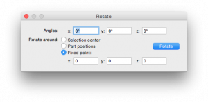 Rotation Controls.